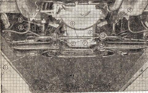Детали рулевого привода и передней подвески